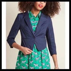 Modcloth Refined In A Flash Blazer